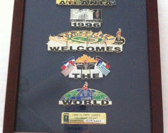 1996 Atlanta Welcomes The World Olympic Pins