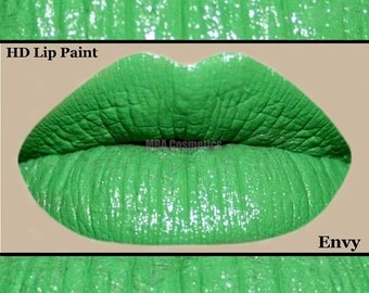 Vivid Green HD Lip Paint- Envy