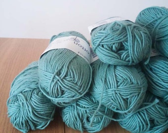 SALE Organic Cotton Yarn - Green