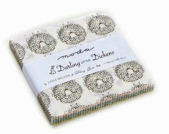 2 Darling Little Dickens Charm Packs
