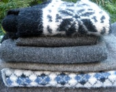Felted Wool, Repurposed Wool Sweaters, Great for Your Projects