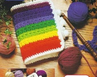 Rainbow Crochet Hook Case Vintage Crochet Pattern
