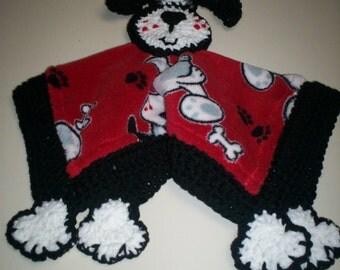 """Puppy Dog """"Lovey"""" Blanket"""