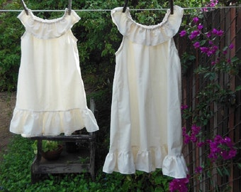 Sweet Summer Nightgown Sleeveless Womens XS - XLg Custom made