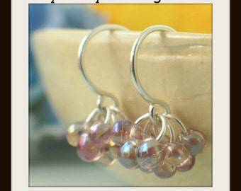 Berry Berry Earring Tutorial - Instant Jewelry PDF