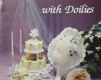vintage 1985 I Do with Doilies Craft Library book