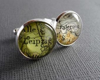 Personalized Mens Jewellery, Groomsmen Gift, Father of the Groom Cufflinks, Custom Cufflinks, Silver Mens Cufflinks, Personalized Jewelry