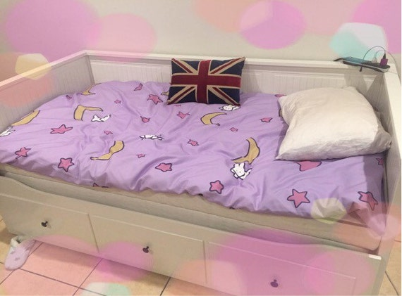 Sailor Moon Fairy Kei inspired Duvet Cover Bedspread Blanket Bedsing MADE TO ORDER