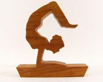 Scorpian Yoga Pose Figurine - Vrischikasana