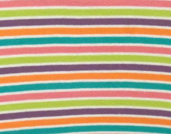 Kids cotton knit fabric rainbow stripes cotton rib knit for Kids knit fabric
