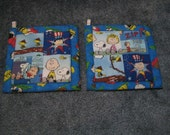 Peanuts Characters Collage Kitchen Potholder Set
