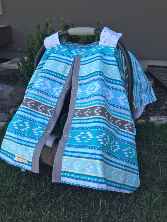 Car seat cover / aztec / arrow  / Car seat cover / car seat canopy / carseat cover / carseat canopy / nursing cover
