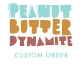 Custom order for Paola