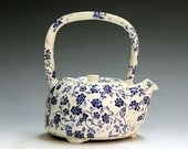 Hand made teapots, porcelain teapots, tea service, porcelain teapots hand crafted tea pot family teapot family gift