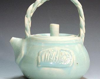 Teapots handmade porcelain teapots ,tea service unique  porcelain teapots