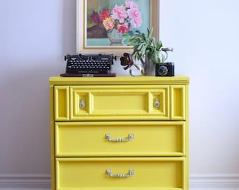 Yellow Dresser- SOLD