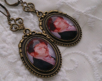 Earrings Pride and Prejudice Jane Austen Mr Darcy