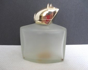 Avon Mouse on Cheese Bird of Paradise Cologne Bottle - 1970's