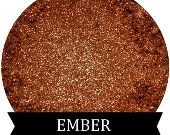 Deep Metallic Orange Eyeshadow EMBER
