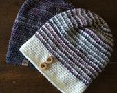 Crochet Slouchy Hat PATTERN Beginner Crochet Slouchy Hat Pattern Includes Sizing Babies to Adult XL