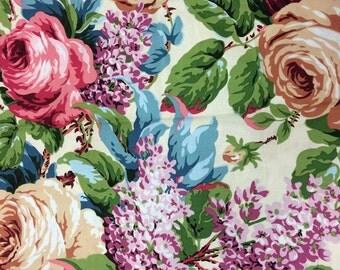 Philip Jacobs Lilac Rose, natural, OOP, rare, vhtf, one yard