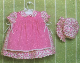 Baby Dress and Pinafore Sewing Pattern Simplicity 4709 Sizes XXS-L