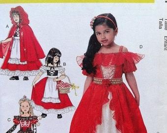Halloween Costumes--Multi Kids UNCUT Patterns n 3-8 sizes  40-70% off Patterns n Books SALE