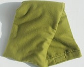 Hot/Cold Rice Bag - Avocado Green Solid Flannel