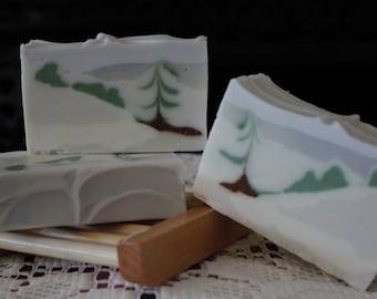 Winter Landscape Soap