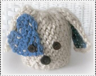 Puppy Love Hat, Puppy Hat Baby Shower Gift, Puppy Hat Photo Prop