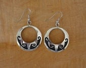 Hopi Silver Earrings Charles Supplee