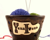Yarnivore - Yarn Bowl for Chicks with Sticks - Ready to Ship