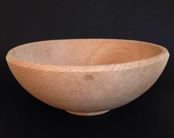 Wood Salad Bowl live oak from Monterey Claifornia