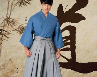 Men's Martial Arts Costume Pattern, YaYa Han Costume Pattern, McCall's Sewing Pattern 7525