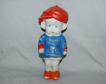Vintage / Large / Bisque / Doll /  Comic / Character / frozen charlotte / penny doll / Vintage Dolls