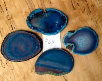 Geode Coasters.   #68