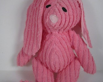 Babys First Soft Chenille Toy Bunny