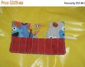 Spring sale sale sale Crayon Roll up Sesame Street Faces