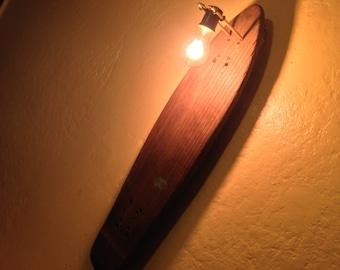 Vintage 70's Skateboard Steam Punk Lantern