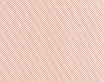 LITTLE RUBY fabric Moda Bonnie & Camille coral diagonal scallops Sundae bias patchwork maker quilting sewing 1 yard 55132-13