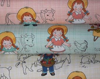 Farm Girl Cotton Fabric by Riley Blake Designs - 1 Yard