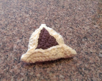 Crochet Hamantashen Purim Hamantaschen