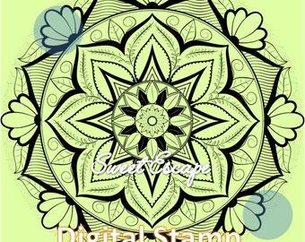 Mandala 1 Digital Stamp