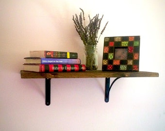 Shelves, Shelving, Bookshelf, Kitchen, Thin Shelves, Livingroom, Rustic Home Decor, Reclaimed Wood, Farmhouse, Bookshelves, Storage