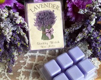 Lavender Soy Tarts, Lavender Soy Wax Melts