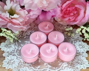 Briar Rose Soy Tea Lights 3 or 6 pack