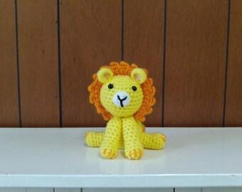 Crochet Little Lion