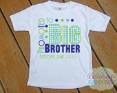 Promoted to Big Brother - Bodysuit or Tshirt - Boy shirt - New Baby