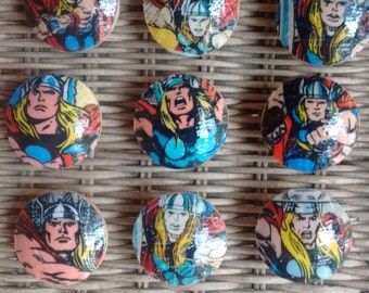 Thor Marvel Handmade Knobs Drawer Pull Dresser Knob Pulls Switch Plate Covers to Match in Shop