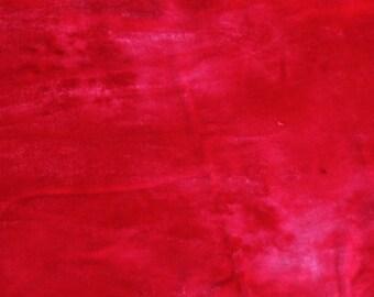 Velvet, hand-dyed silk-backed rayon velvet, Hot Pink